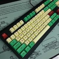 Jukebox sa keycas Sublimation PBT Cap SA Ball Cap Personality Cap Compatible with 64/68/104/108 Mechanical Keyboard