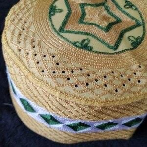 Image 3 - 5 Pic Sombrero musulmán, cabeza africana, Topi