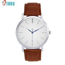 Novel wrist watch men Unisex Band Analog Quartz Business Wrist Watch Ap12 Dropshipping