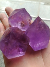 3 AAAA Brazil Natural Ametrine Quartz Crystal Point Wand Single Terminated Reiki Healing natural stones and minerals