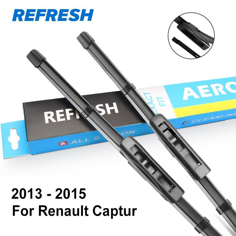 REFRESH Щетки стеклоочистителя рено Каптюр 2013 - Цвет: 2013 - 2015