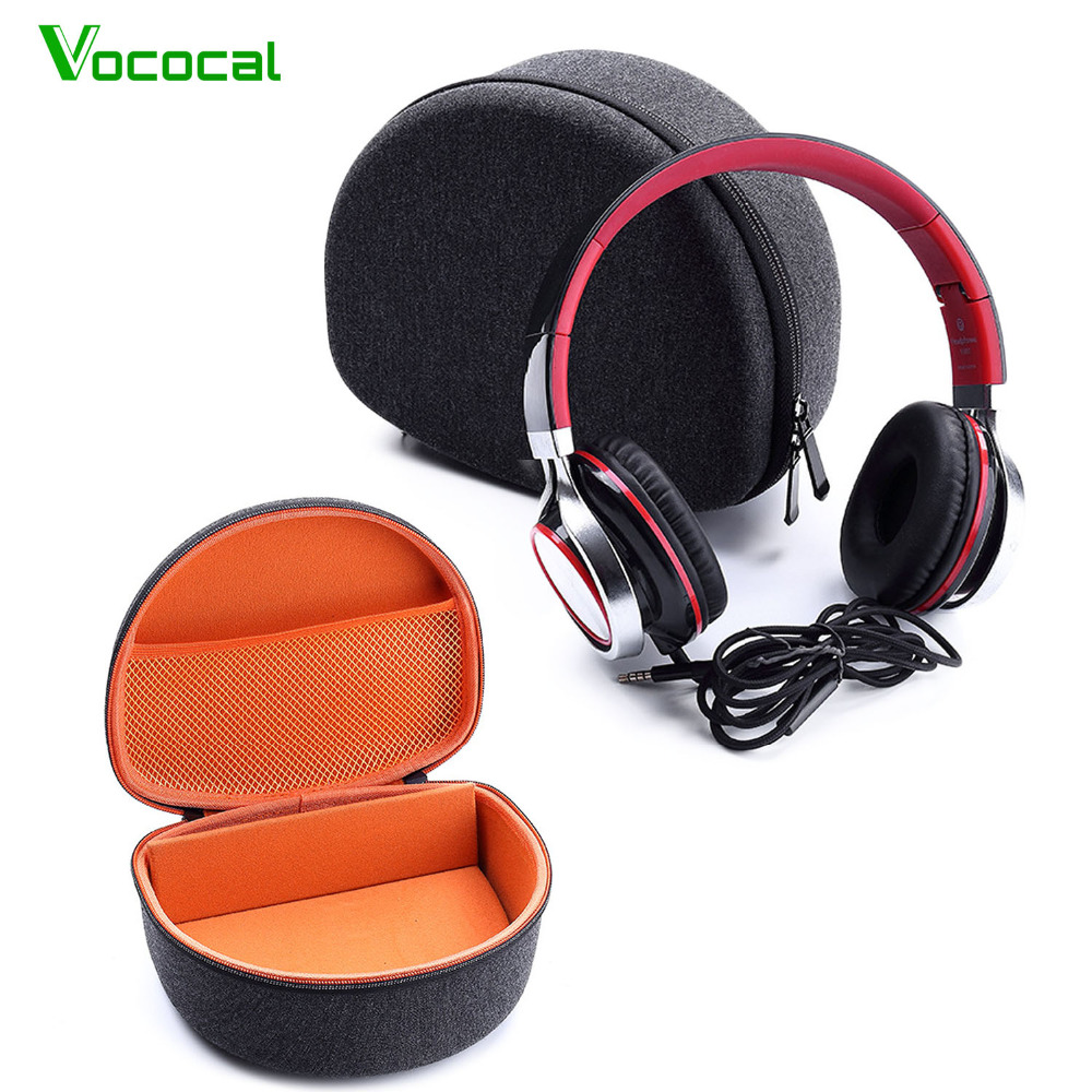 Vococal Travel Earphone Headset Carrying Bag Case Pouch Storage Box for Sony H900N WH1000XM2 Beats Studio Foldable Headphones