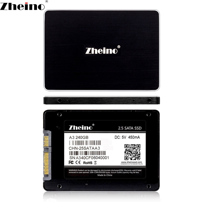 Zheino SSD SATA3 240 gb 256 gb 2.5 pouce Interne Solid State Drive 7mm SSD Pour PC Portable De Bureau