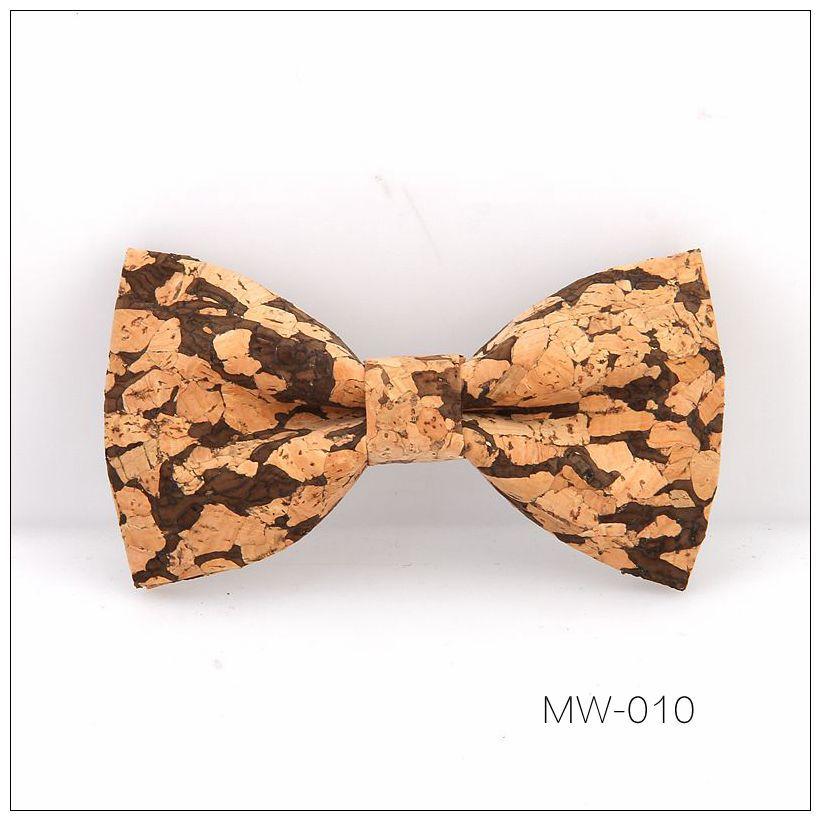 New Handmade Wooden Cork Bamboo Bow Tie Bowtie Men's Cravat 56