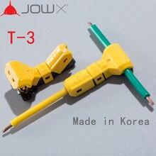 JOWX T 3 10PCS Voor 16 15AWG 1.5sqmm Non strippen Elektrische Draad Kabel Connector T joint Scotch Lock Quick splice Crimp Terminals