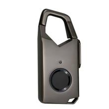 Fingerprint Lock Smart Home Luggage Dormitory Locker Warehouse Door Waterproof Super Long Standby Electronic Padlock