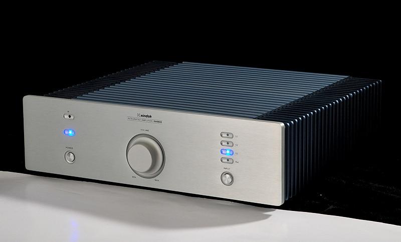 I-020 HiFi Audio XA6800(08) Dual Channel Integrated Amplifier 3*RCA,1*XLR 80W /8 ohm Sliver динамик широкополосный peerless 3 8 ohm 830987 1 шт