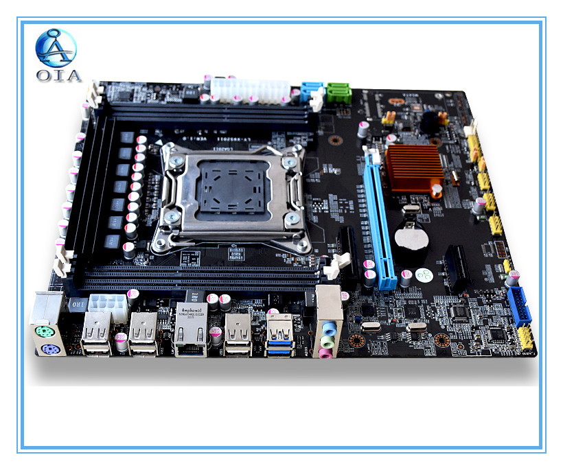 OIA X79  NEW desktop motherboard   with USB 3.0 support RECC ram  mainboard LGA 2011  mainboard new desktop motherboard for z9pe d8 workstation motherboard board mainboard