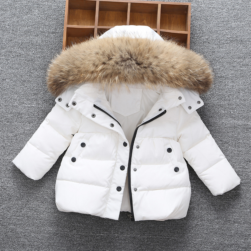 Children'S Down Jacket Girls Winter Coat Jackets For Boy Jacket For Girl High Quality Warm Hooded Winter Jacket Boys 2-3-4-5-6-7 russia winter boys girls down jacket boy girl warm thick duck down