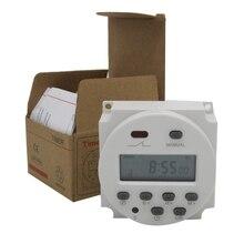 Высококачественный CN101A AC 220 В 230 в 240 В цифровой ЖК-дисплей таймер питания программируемый реле времени 16A таймеры CN101 таймер