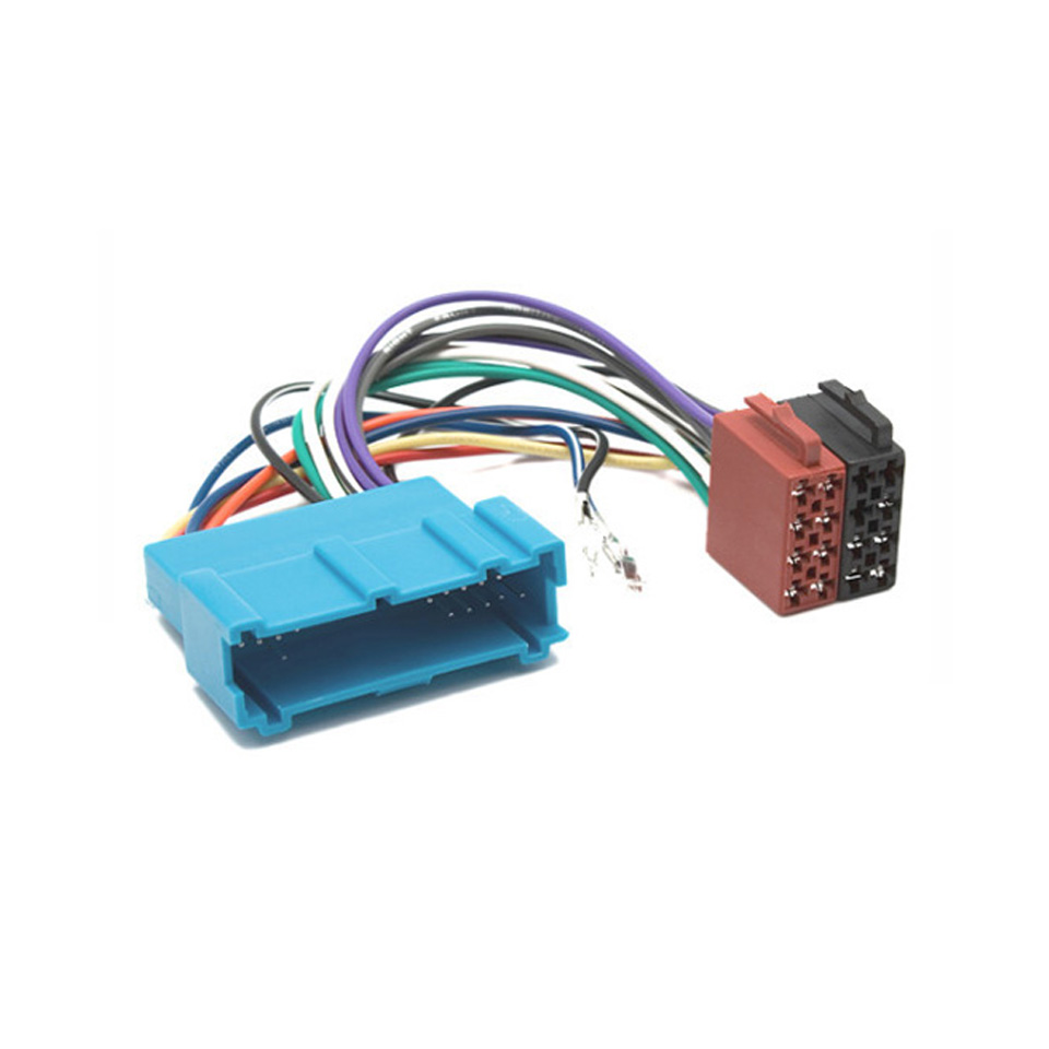 Autostereo ISO Car Wiring HARNESS FOR CAR AUDIO INSTALLATION ...