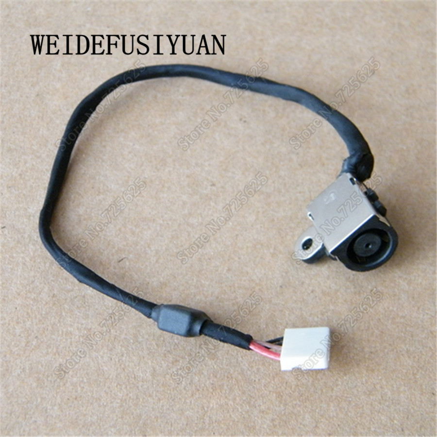 DC Power Jack Plug Harness Cable for Dell Inspiron 15 7000 7537 50.47L02.001