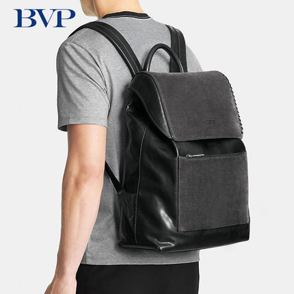 High Quality Famous Brand Luxury Genuine Leather Fashion Man Backpack Cow Leather Leisure Multi capacity Laptop Travel Bag J50
