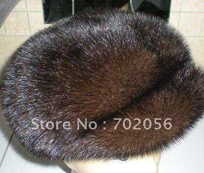 Womens Mink Visors Hats Cap Gorgeous#2308
