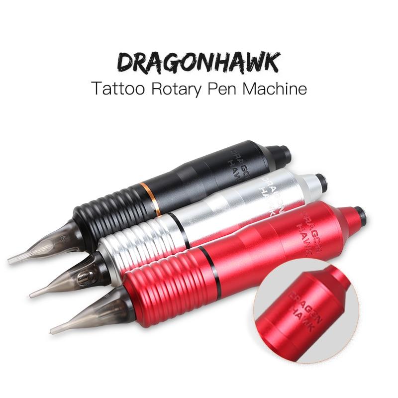 Hybrid Tattoo Pen Rotary Tattoo Machine & Permanent Makeup Pen Motor Needle Cartridges for Tattoo Artists стоимость