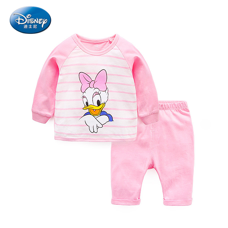 Clothing Sets Mother & Kids Smart Disney Mickey Baby Clothes New Baby Girl Autumn Clothes Cartoon Long Sleeve Tops Ruffle Infant Clothing Kids Bebes Jogging Suits