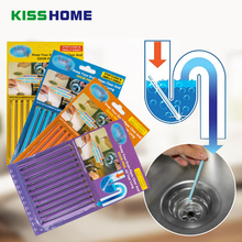 12PCS/ Set Sani Cleaing Sticks Keep Your Drains Pipes Clear And Odor Home Cleaning Essential Tools Pipe Cleaner Bathroom