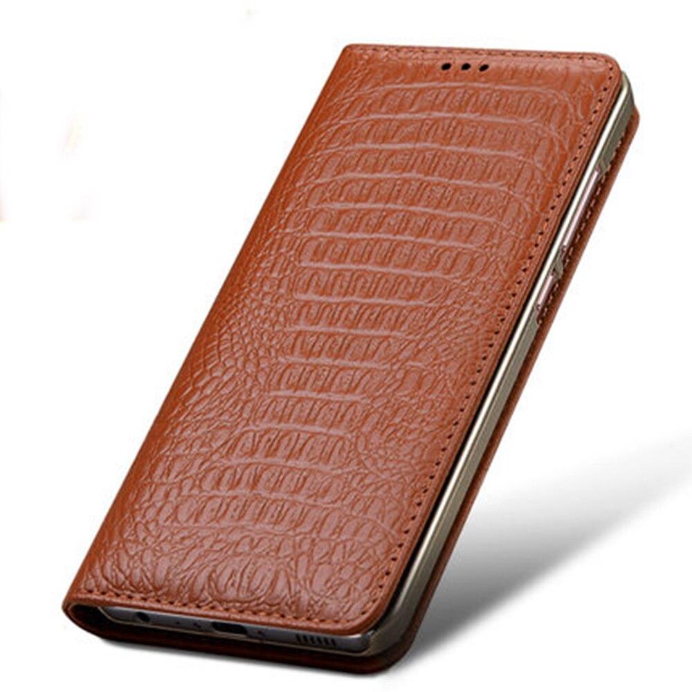 imágenes para Para Huawei P10/P10 Más Caso 100% Cubierta Del Teléfono Del Tirón de Negocios de Cuero de Vaca Genuino Diseño Original Bolsa Protectora de La Piel nueva Llegada