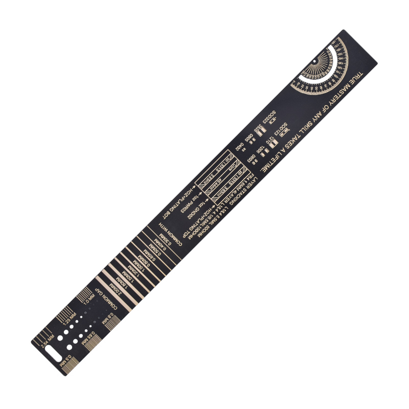 5pcs/lot 25CM PCB Ruler For Electronic Engineers Measuring Tool PCB Reference Ruler