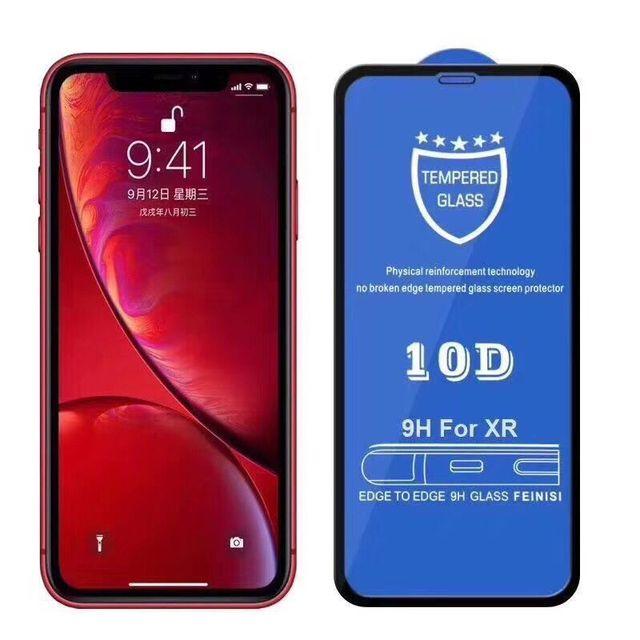 200 Chiếc 10D Full Keo Dán Kính Cường Lực Phủ Màn Hình 0.3 Mm Bảo Vệ Bảo Vệ Cho iPhone 11 Pro XS XR