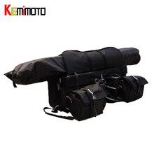KEMiMOTO Four Wheels Snowmobile ATV Cargo Rear font b Rack b font Gear Bag Luggage Set