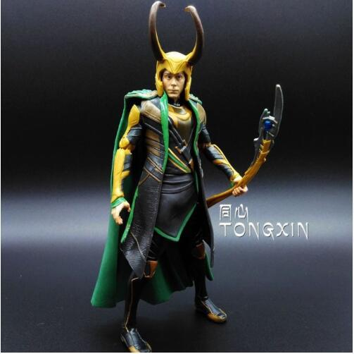 New 16cm Avengers 2 Thor Brother Loki Villain Heros Action Figure Collectible PVC Model Toy Movable Joints Doll Kids Gifts