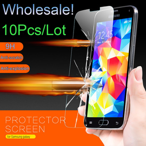 Wholesale 9H Tempered Glass Screen Protector Film For Samsung Galaxy J2 J5 Prime i8552 G530 i9060 G360 A5 2016 S6 S5 J120 Case