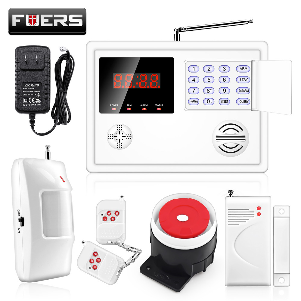 Back To Search Resultssecurity & Protection Generous Fr Ru Es Pl De Switchable Wireless Home Security Wifi 3g Gsm Gprs Alarm System App Remote Control Rfid Card Arm Disarm Alarm System Kits