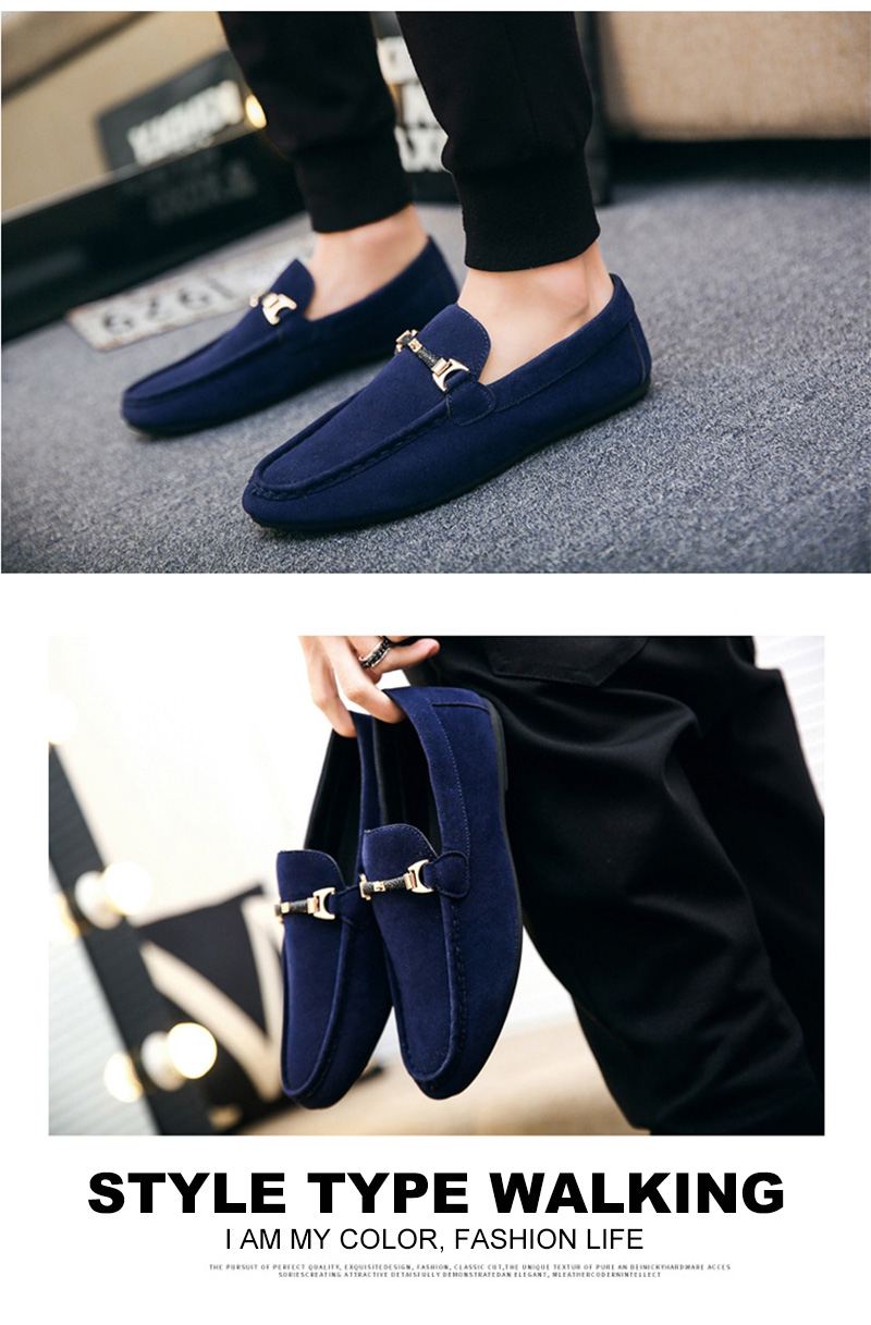 Spring Men Casual Shoes Fashion Peas Driving Male Shoes Adult Lazy Men Sneakers Slip on Loafers Man Walking Footwear Big Size 46