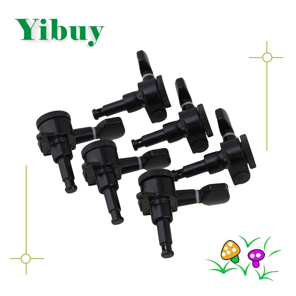 Yibuy Black Auto Lock Saite Gitarren-Stimmwirbel Mechaniken - Musikinstrumente - Foto 1
