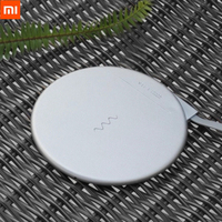 Newest Xiaomi VH Wireless Charger Pad 5V/2A 5W Qi Standard 9V/1.67A 7.5w/10W QC 3.0 Fast Charging Pad for iphone X 8 Samsung Battery Chargers