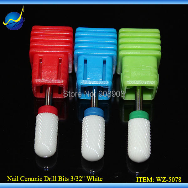 Nouveau Ceramic Nail Bits Professional Toe Cuticle Feet Pedicure - Outils abrasifs - Photo 1