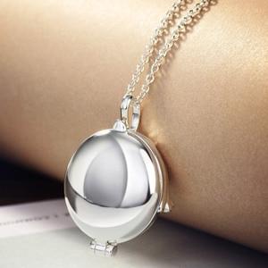 Image 5 - Neoglory colgante de Plata de Ley 925 con zirconia, collar con colgante LARGO DE Elena Nina, diseño de diarios de vampiro, alergia, regalo para mujer
