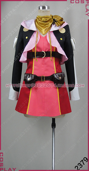 Tales of Zestiria Rose Cosplay Costume Uniform New in Stock