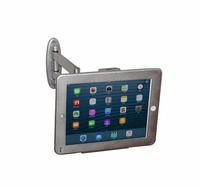 Security wall mount with anti theft enclosure display on hotel or retail shop store Stand for ipad 2/3/4