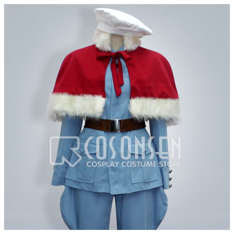 COSPLAYONSEN Axis Powers Hetalia Finland Cosplay Costume With Mantle All Sizes Custom Made