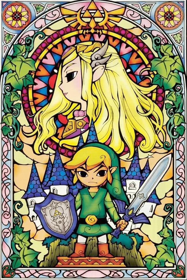 Die Legende Von Zelda Atem Der Wilden Wand Kunst Bild Kunstdruck Malerei Auf Leinwand Home Wand Decor Kunstwerke geschenk tropfen verschiffen
