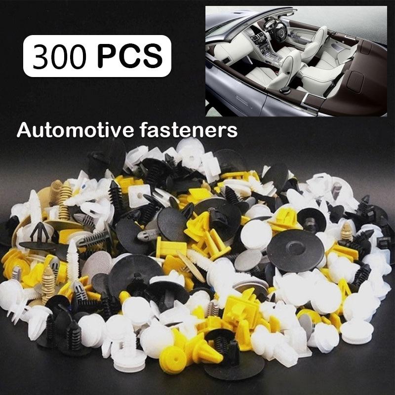 Vehemo смешанный автомобильный бампер зажимы Авто отвертка для крепежа кузова автомобиля для толкателя Заклепки Крепеж Универсальный расширительный автомобиль