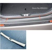 For Toyota RAV4 2019 2020 car inner inside rear bumper trim stainless steel scuff sill trunk plate pedal 1pcs