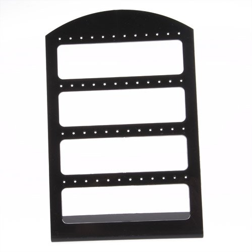 120X190mm Earring Holder Earring Rack Black Stand