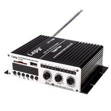 Lepy LP-V9S 2x 20W 2CH Hi-Fi Stereo Digital Power Amplifier Amp with USB SD DVD CD FM MP3 + Power Adapter Lepai