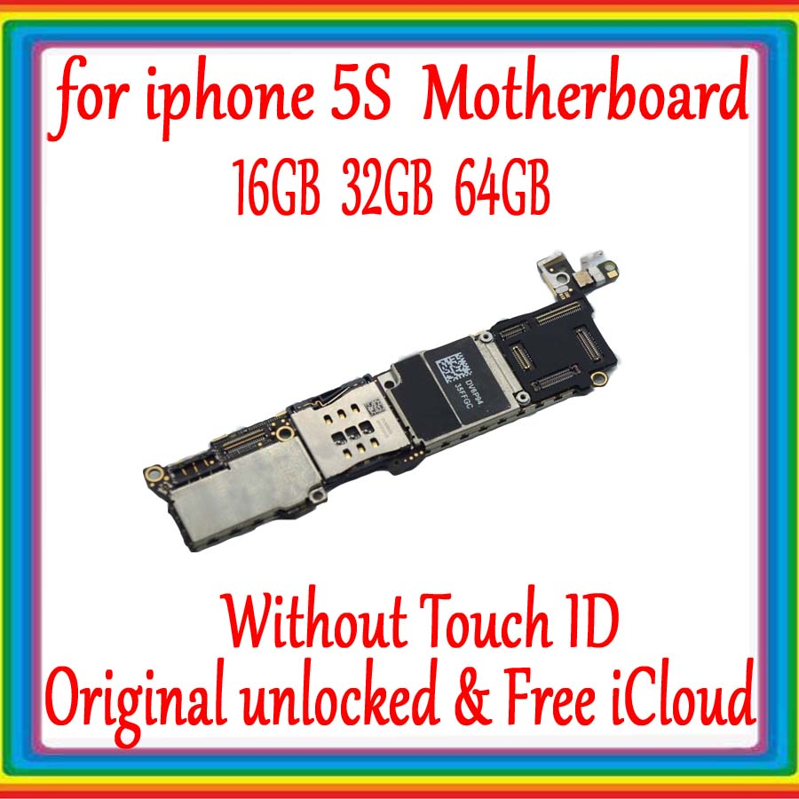 for iphone 5S Original unlocked Motherboard with Full Chips,without Touch ID for iphone 5S Mainboard with IOS System,No iCloudfor iphone 5S Original unlocked Motherboard with Full Chips,without Touch ID for iphone 5S Mainboard with IOS System,No iCloud