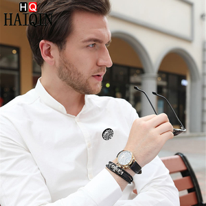 Image 4 - HAIQIN Mens watches Automatic mechanical Men Watches Business Watch men top brand luxury Military Waterproof Tourbillon Clock