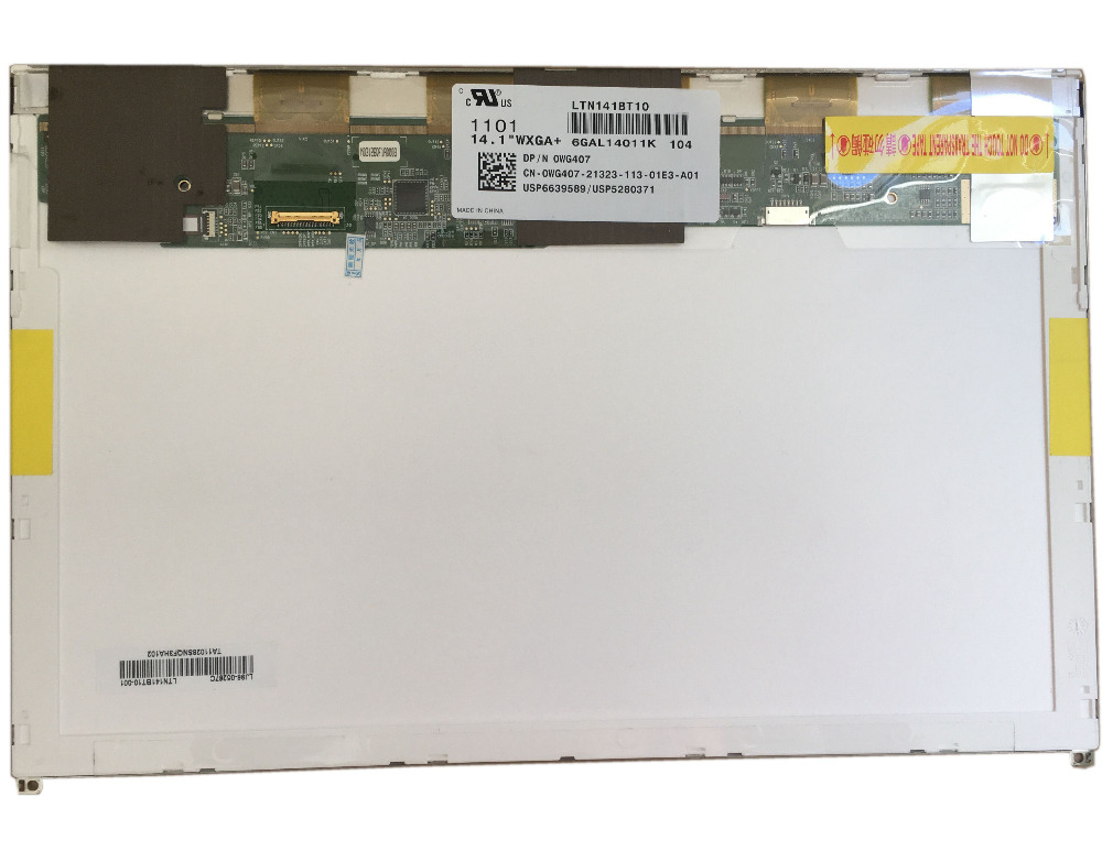 LTN141BT10 104 fit B141PW04 V.1 LTN141BT10 001 LP141WP2 TPA1 (TP)(A1) For DELL E6410 E5410 LCD SCREEN 30 PIN EDPLTN141BT10 104 fit B141PW04 V.1 LTN141BT10 001 LP141WP2 TPA1 (TP)(A1) For DELL E6410 E5410 LCD SCREEN 30 PIN EDP