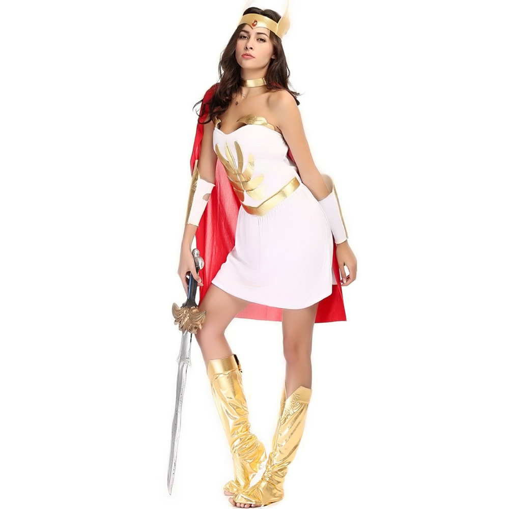 halloween costumes for women egypt roman female warrior dress greek