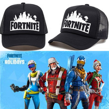New Fortnite Mesh Baseball Caps Fortnite Game Hip Pop Streetwear Snapback Summer  Trucker Dad Hat for Women Men Outdoor Hats 2018 6230b9534a52