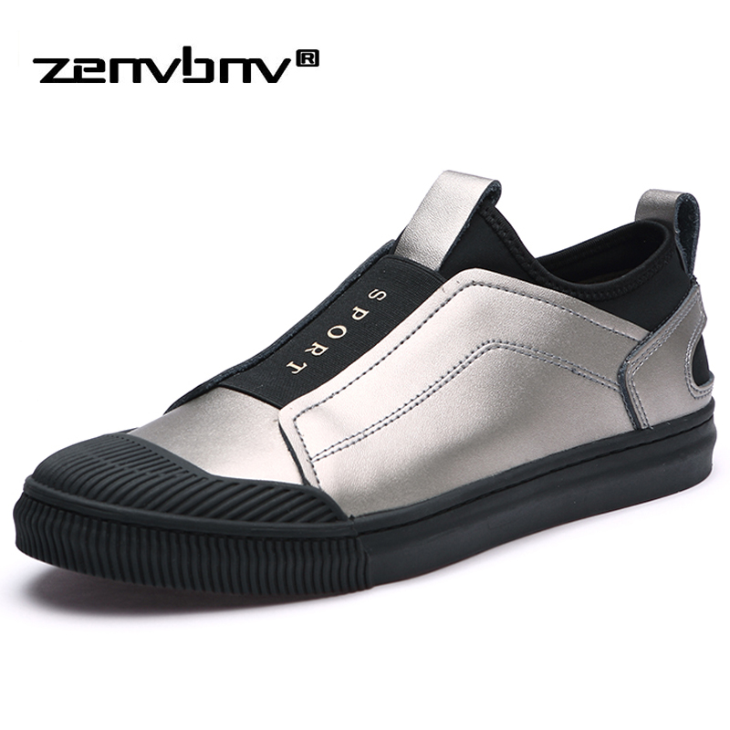 ZENVBNV Men shoes Fashion comfortable Men casual shoes Soft Light Leather Flats High quality Summer Slip on Sneakers Footwear zenvbnv high quality summer cow genuine leather men shoes soft loafers fashion brand men moccasins flats comfy driving shoes