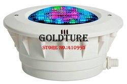 Корпус лампы для бассейна par56, бетонный бассейн из АБС-пластика с защитной трубкой для кабеля питания, ниша для бассейна