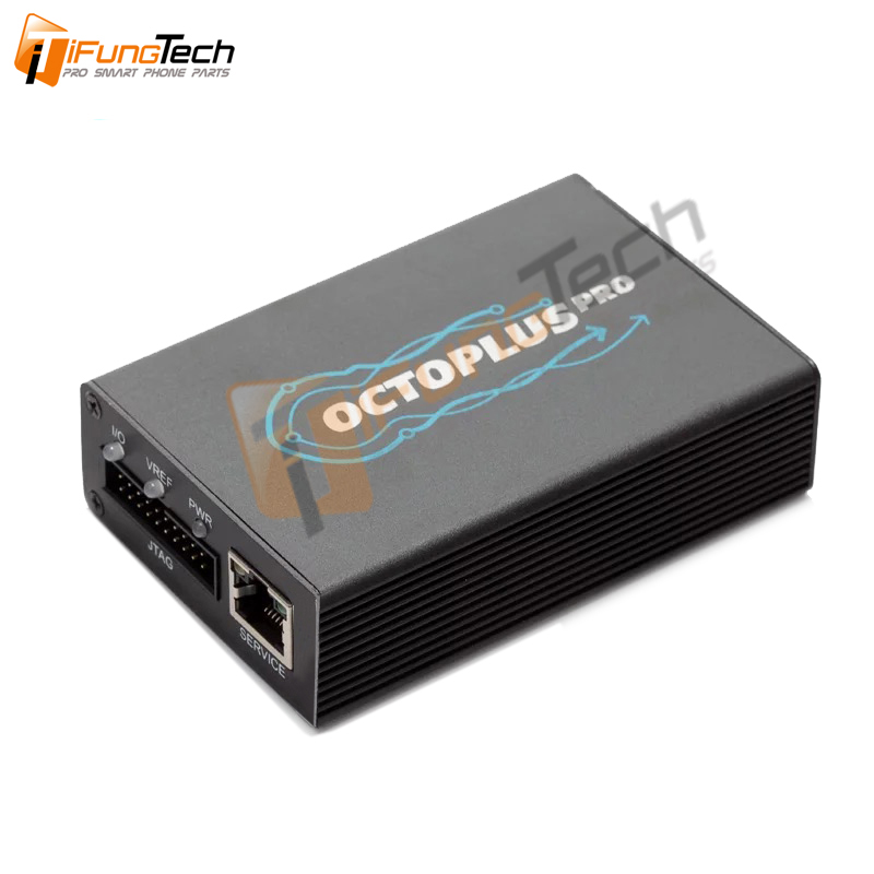 Octoplus Pro Box + 7 Cables/Adapter Set (Activated For Samsung + For LG + EMMC/JTAG + FRP Tool + HuaTool + Unlimited For Sony