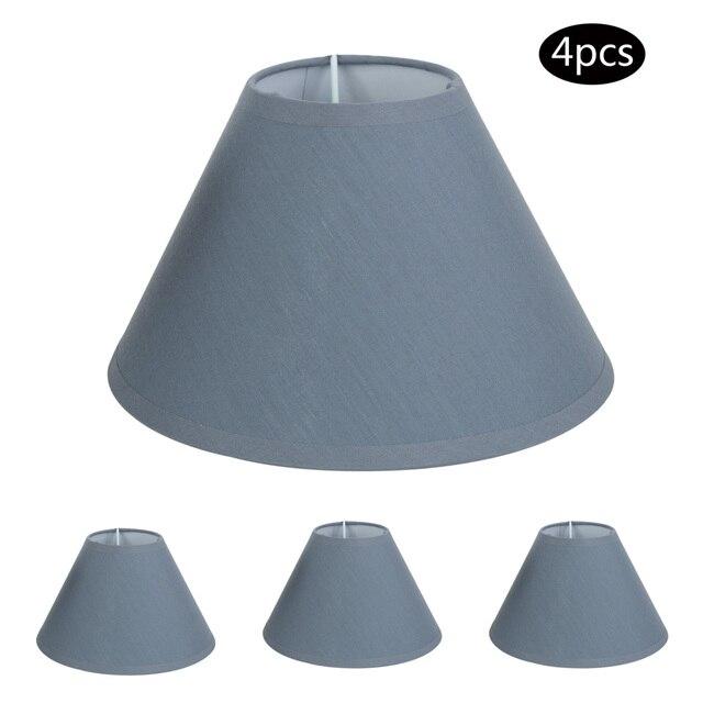 E14 e12 chandelier lamp shades hardback candle cotton linen e14 e12 chandelier lamp shades hardback candle cotton linen lampshade lamp covers 8 inch aloadofball Gallery